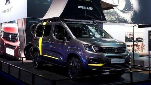 File photo: A Peugeot Rifter 4x4 concept van is seen at the Paris auto show in Paris, France. (REUTERS)
