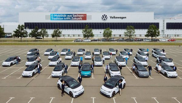 Volkswagen ID.3 is the world's first car to be produced and delivered with a neutral Co2 balance.