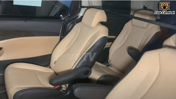 Interior images of the upcoming Kia Carnival MPV leaked online. (Photo courtesy: autospy.net)