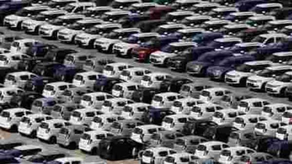 Cars are seen parked at Maruti Suzuki's plant at Manesar, in the northern state of Haryana, India. (File photo) (REUTERS)