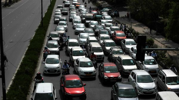 Nitin Gadkari has said that the industry should consider various aspects of sustainable transportation system which comprises of low carbon fuels, electric vehicles, (File photo used for representational purpose only). (AP)
