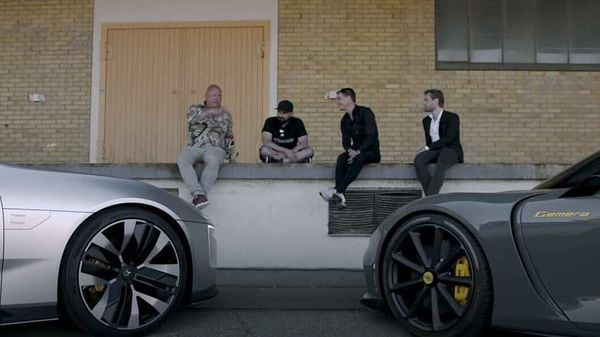 Koenigsegg and Polestar CEOs meet up to discuss all things cars. (Photo courtesy: YouTube/Polestar And Koenigsegg)