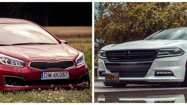 File photos of Kia and Dodge cars used for representational purpose.