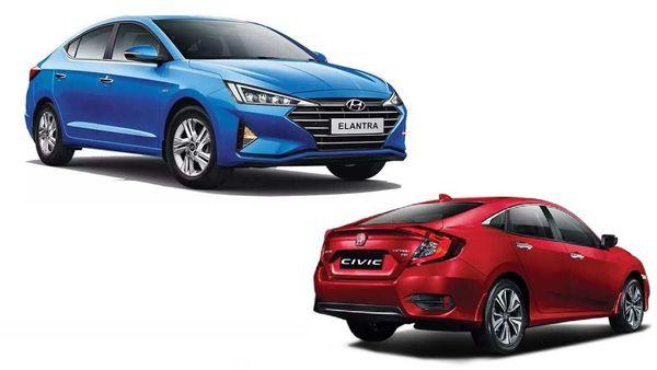 War of the executive sedans: Honda Civic vs Hyundai Elantra