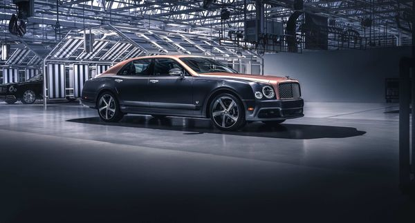 The final unit of Bentley Mulsanne will go to an undisclosed location in the US.