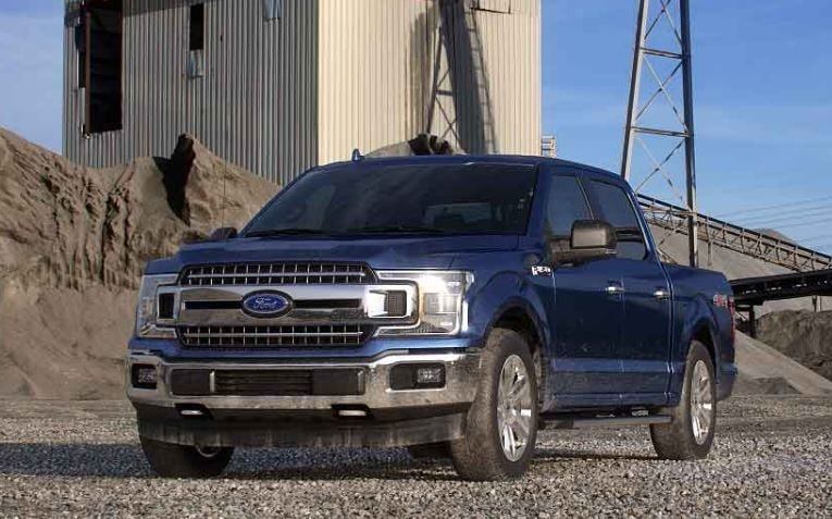 File photo of a Ford F-150 truck.