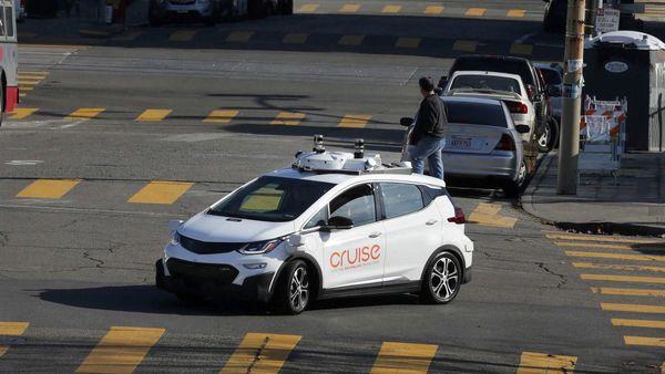 FILE PHOTO: A self-driving car (GM Bolt EV) (Representational Image) (REUTERS)