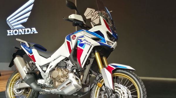Honda has launched Africa Twin Adventure Sports 2020 in India. The prices start at ₹15.35 lakh and extend up to ₹16.10 lakh. (File photo)
