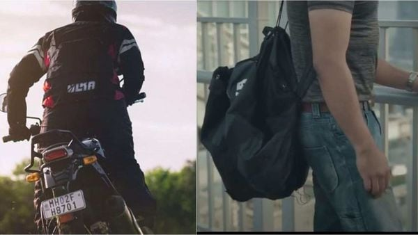 Convertible motorcycling jackets also seek to address storage needs of riders.
