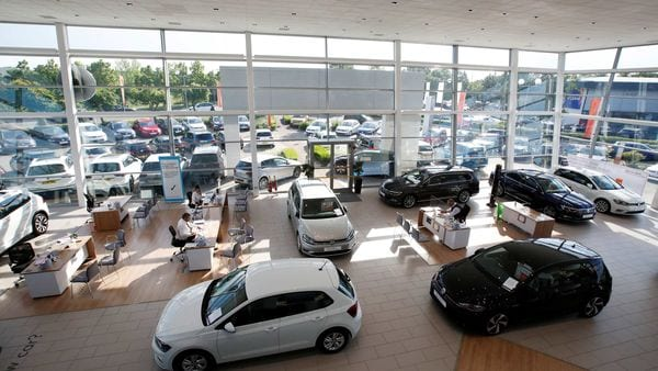 Lower sales volumes mean automakers can offer hefty discounts per vehicle, while still shrinking overall spending. (Representational photo) (REUTERS)
