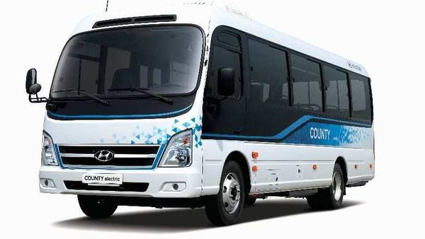 Hyundai electric minibus called County Electric