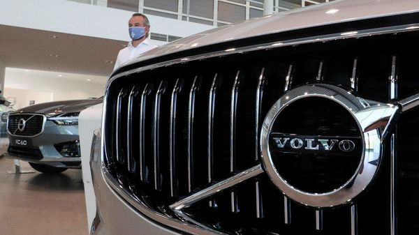 Volvo has recalled nearly 2.2 million vehicles worldwide to resolve a seat belt problem on ten of its models. (REUTERS)