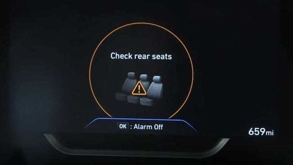 The Rear Occupant Alert (ROA) door-logic system will alert driver in case he forgets rear seat occupants while leaving the vehicle.