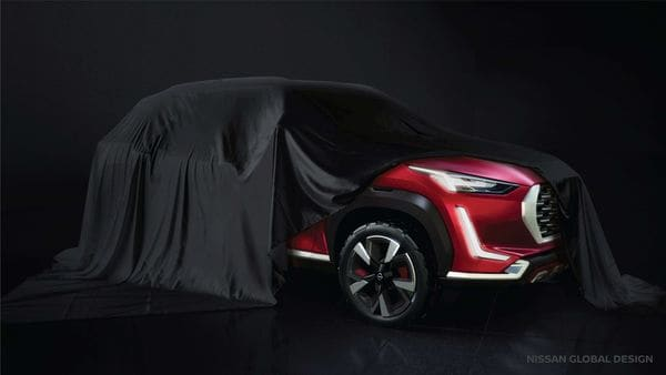 This teaser image gives the biggest glimpse at Nissan's upcoming sub-compact SUV in India yet.