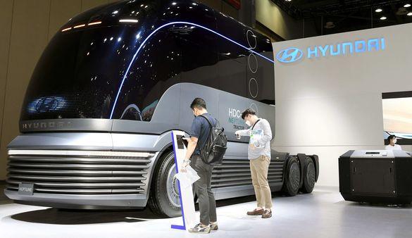 HDC-6 Neptune Concept has made its Korea premiere.