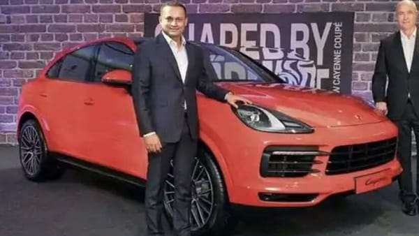 Pavan Shetty, Director, Porsche India, at the launch of the Cayenne Coupe in December, 2019. (File photo)