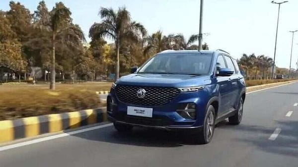 MG Hector Plus six-seat SUV will launch in the second week of July.