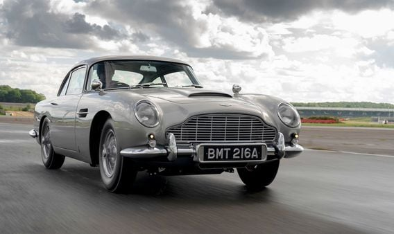 The first of the all-new Aston Martin DB5 Goldfinger Continuation cars have rolled out and is ready for delivery