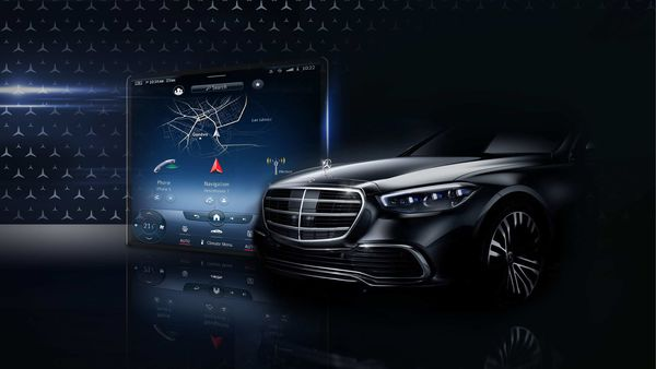 Mercedes-Benz has given a glimpse of what the new S-Class will be like.