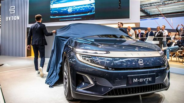 File photo - Byton's M-Byte electric SUV was unveiled at the Frankfurt Auto Show last year (Photo courtesy: byton.com)