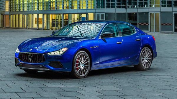 The Maserati Ghibli facelift will be the brand's first electrified car. Image: Motor Authority
