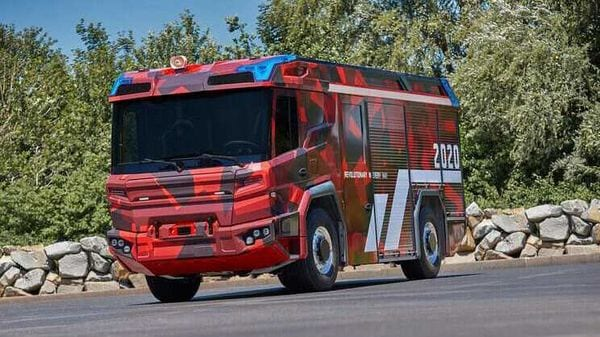 The Concept Fire Truck has been named - Revolutionary Technology.