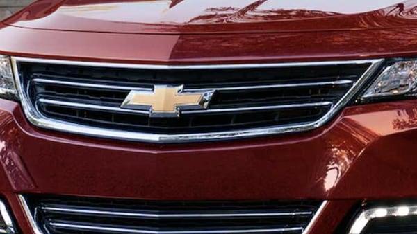 Chevrolet logo appears on Impala