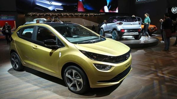 Altroz, Tata Motors' latest offering, can now be bought at a starting EMI of ₹5,555. (REUTERS)