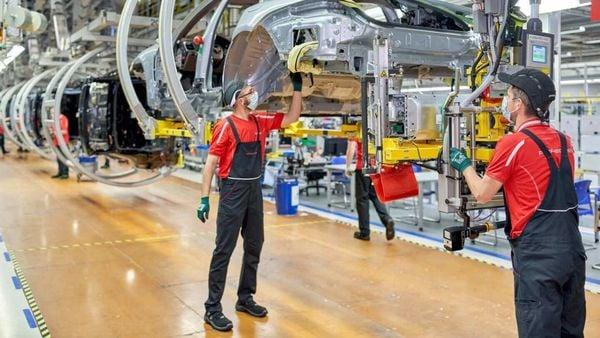 Porsche Leipzig gets ready for electro-mobility as the carmaker extends the facility to produce electric vehicles.