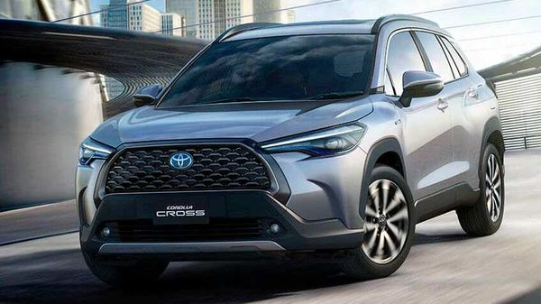 Toyota has launched Corolla Cross SUV in Thailand.