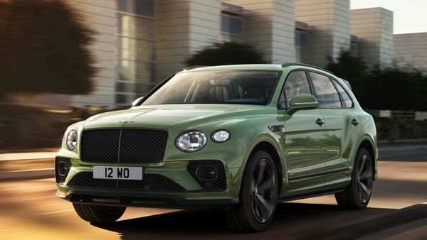 The facelift Bentley Bentayga SUV