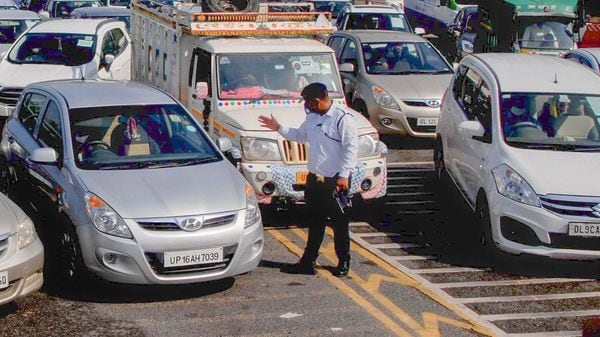 Four FIRs were registered and 11 people were arrested for violating Covid-19 curbs in Noida on Wednesday. (File photo for representational purpose) (PTI)