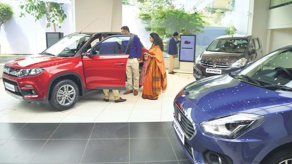 File photo of a Nexa dealership for representational purpose only.