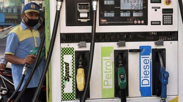 Photo of a petrol pump in New Delhi, (File photo) (PTI)
