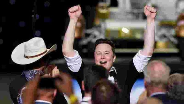 Elon Musk is now the world's seventh-richest person according to the Bloomberg Billionaires Index. (REUTERS)