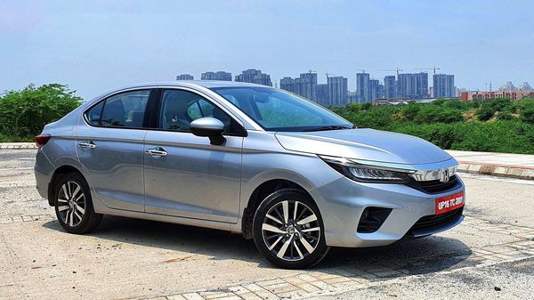 Honda City 2020 takes styling cues from the Accord and Civic which greatly help it with its visual appeal. (HT Auto/Sabyasachi Dasgupta)