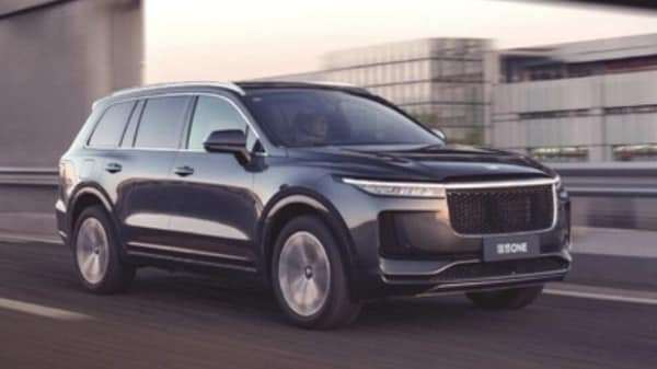Photo of Li ONE electric SUV. (Photo courtesy: Li Auto)