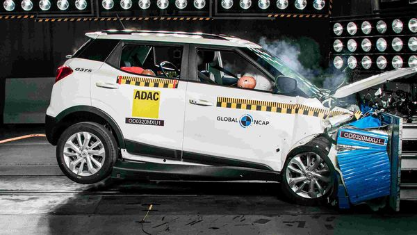 Mahindra XUV300 got the highest combined result in Global NCAP's Safer Cars For India crash tests to date with the highest score in both the adult and child protection categories. (Photo courtesy: http://www.globalncap.org/)