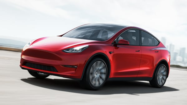 The starting price of Tesla Model Y is now $49,990, according to company website.