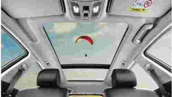 There is a panoramic sunroof available. The SUV also comes along with a number of safety and convenience features like six air bags, hill assist, descent control, electronic parking brake (EPB), ABS with EBD, and front and rear parking sensors.