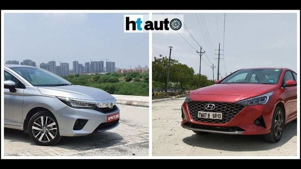 Honda City 2020 and Hyundai Verna 2020 once again go head-to-head on Indian roads.