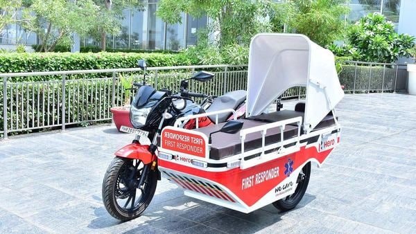 Hero MotoCorp says more such specially-designed bikes will be made available to health authorities in different parts of the country.