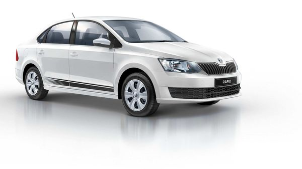 Skoda has added a new variant to Rapid TSI - Rider Plus.