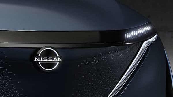 Nissan Ariya Concept with the new logo