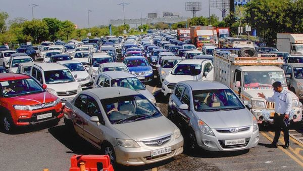 Owners of over two thousand vehicles were penalised across Noida and Greater Noida on Wednesday and 13 persons arrested for allegedly violating anti-Covid-19 curbs. (File photo for representational purpose) (PTI)