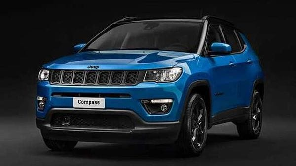 2020 Jeep Compass Night Eagle (UK-spec).
