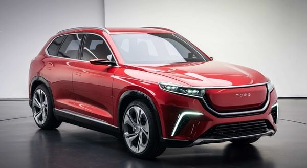 TOGG's first fully-electric C-SUV