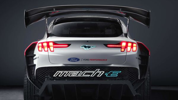Built for the tack, the car makes use of high-performance battery and has 2,300 lb of downforce at 160 mph (approximately 257 kmph). The 56.8-kilowatt-hour battery installed is made up of nickel manganese cobalt pouch cells.
