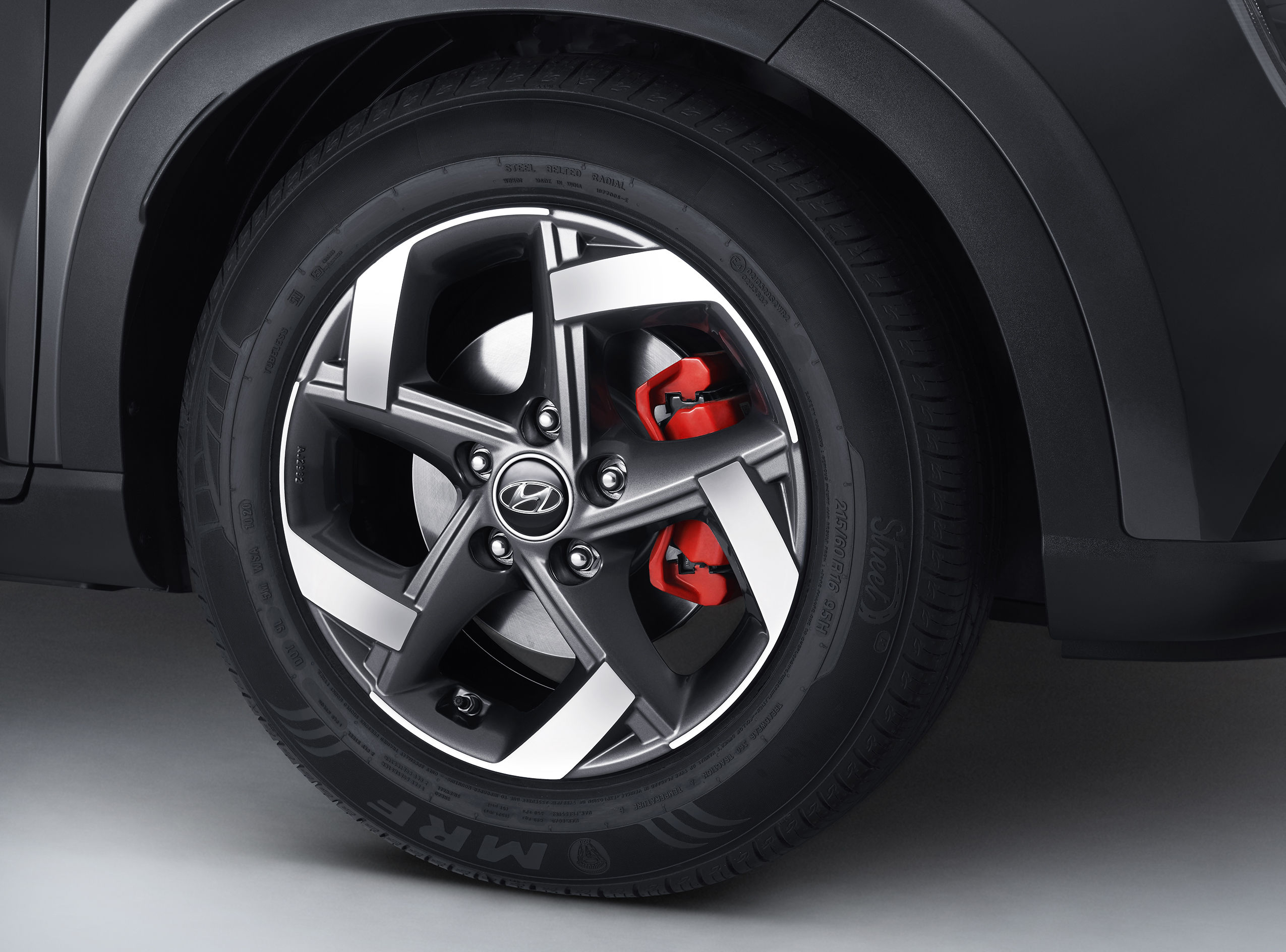 The car also gets a SPORT emblem and red brake calipers, It is offered in two dual-tone colour options - grey with black roof, and white with black roof.