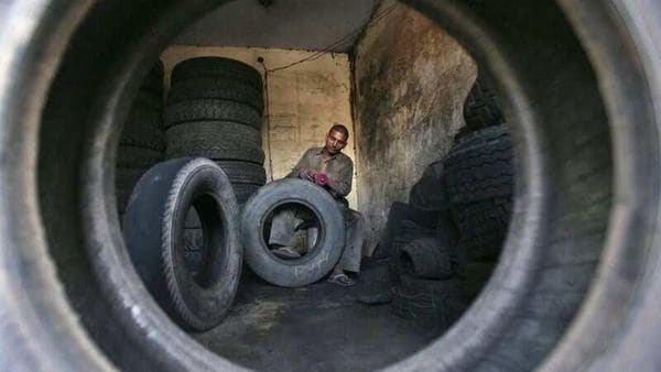 The govt has notified regulations for tyres, safety glass under Central Motor Vehicles Rules. (File photo) (REUTERS)
